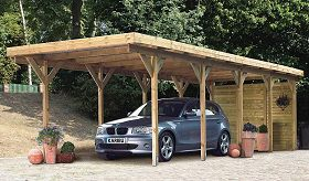 bausatz carport. Black Bedroom Furniture Sets. Home Design Ideas